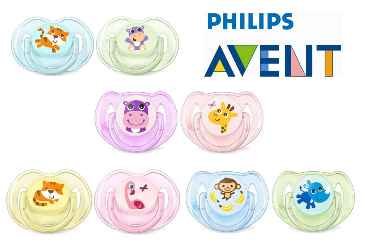 Baby Soother Dummy Nipple 0 6m 6 18m Pacifier Philips Avent 2 Pack Orthodentic Pink Soothers Classic