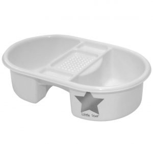 White Nursery Bowl For Babies To Use While Bathing
