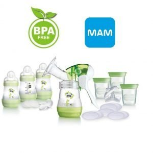 MAM Breast Feeding Starter Set
