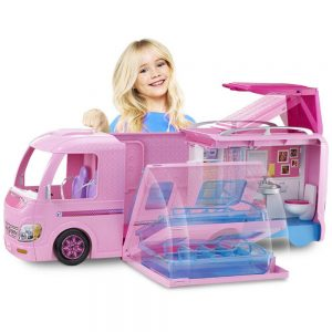 Buy This Amazing Pink Barbie Pop Up Camper