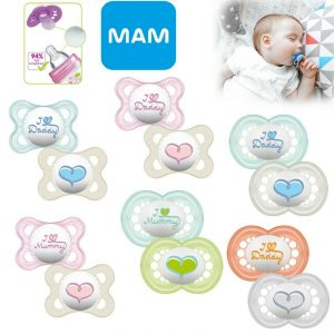 Mam Baby Soother Pack For Boy