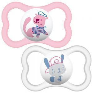 MAM Air Soother in Pink Color