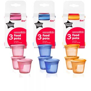 Tommee Tippee Essentials Baby Food Pots