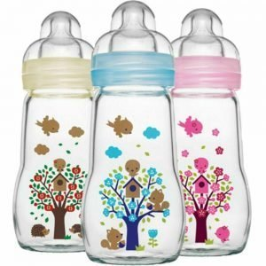 Glass Feeding Bottles for Babies