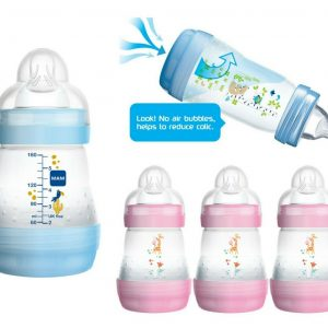 MAM's Anti Colic Bottles for Breastfed Babies