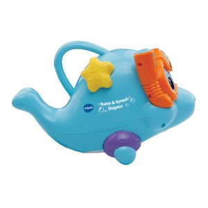 VTech Swim & Splash Dolphin Fish Toys Bath tub Water Fun Pool Game Funny Gift