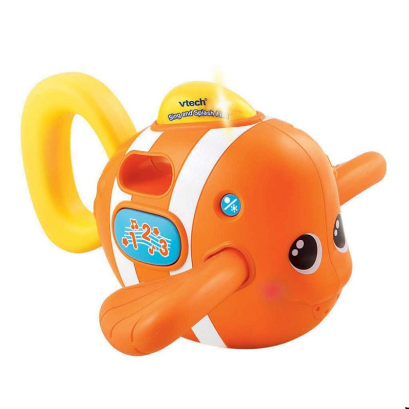 VTech Sing and Splash Fish Toy for Kids Bath tub Water Fun Pool Game Funny Gift